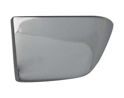 Ford Mustang Inside Door Handle - Chrome - Left - Spear Head Type For Mach 1 & Deluxe Interiors