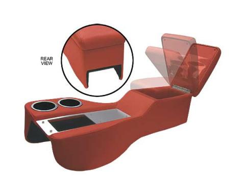Ford Mustang Saddle Cruiser Console - Coupe & Fastback & Convertible - Red