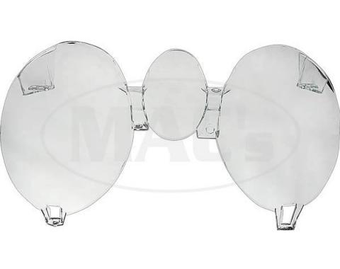 Ford Mustang Instrument Bezel Lens Set