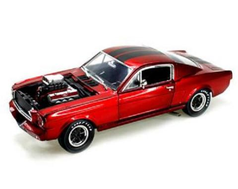 Mustang Model, Shelby GT 350R, Red, 1:18 Scale, 1965