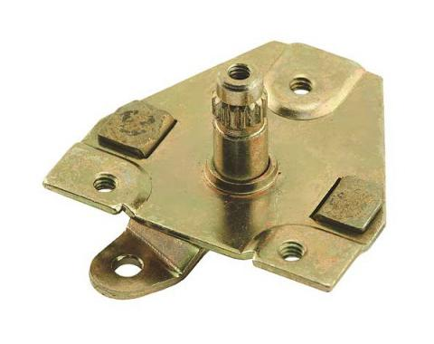 Door Handle Shaft Or Pivot Assembly - Stamped Steel - With A Precision Machined Stem - Left