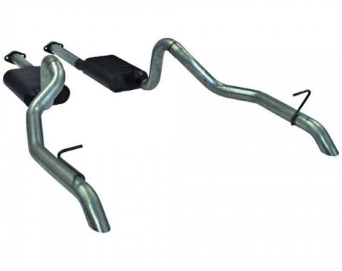 Mustang Flowmaster American Thunder Catback Exhaust System, 1987-1993