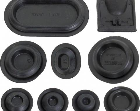 Ford Mustang Rubber Grommet Kit - 44 Pieces