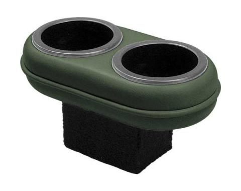 Ford Mustang Plug & Chug Drink Holder - Green