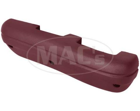 Ford Mustang Arm Rest - Maroon Or Dark Red - Left - Standard Interior