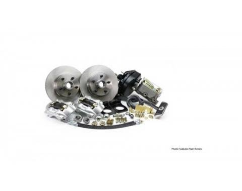 Ford Mustang - Legend Series Front Disc Brake Conversion Kit, Power, V8 With Automatic Transmission, 1967-1969
