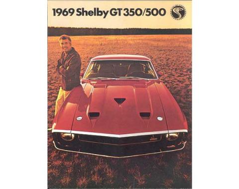 Ford Mustang Shelby Color Sales Brochure - 6 Pages - 15 Illustrations