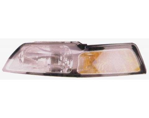 Mustang Head Lamp L/H (LHD) Ass'y 1999-00