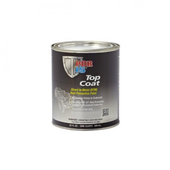 POR-15® Top Coat Paint, Quart, Assorted Colors