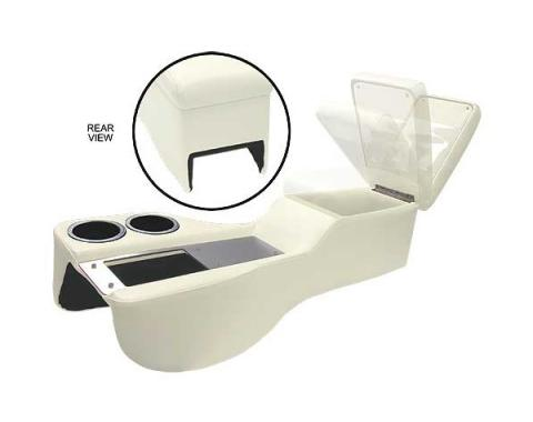 Ford Mustang Saddle Cruiser Console - Coupe & Fastback & Convertible - White
