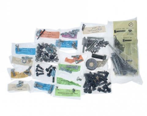 Engine Hardware Master Kit - 289 V8 With Cast Iron Water Pump & A/C - Ford