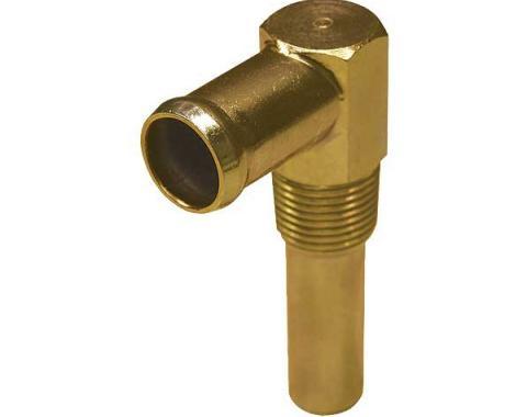 Hot Water Heater Elbow - Gold Zinc - 289 & 302 V8 - Falcon,Comet & Montego