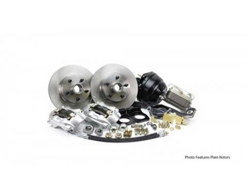 Ford Mustang - Legend Series Front Disc Brake Conversion Kit, Power, V8 With Manual Transmission, 1967-1969