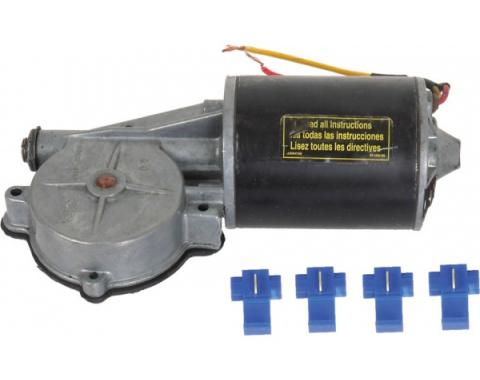 Power Window Motor - Remanufactured - 9-Tooth Gear - Right - All Windows Except Convertible Quarter Windows - Comet & Montego