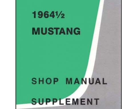 Mustang Shop Manual Supplement - 44 Pages