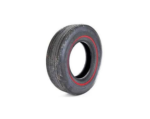Tire - F70 x 14 - 3/8 Red Line - Firestone Wide Oval