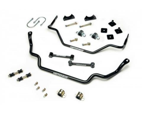Mustang Hotchkis Front & Rear Sway Bar Kit, 1964-1966