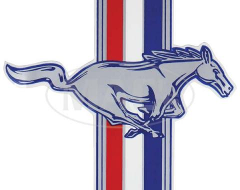 Ford Mustang Decal - Running Horse With Tri-Bar - 7 High - Right