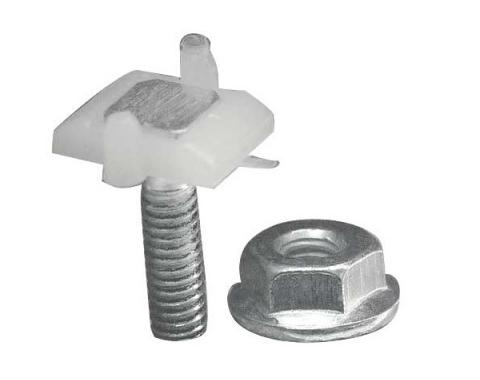 Grille Moulding Clip - Used On Upper, Lower & End Mouldings