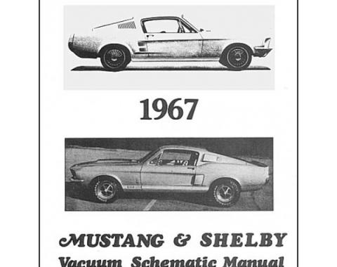 Mustang and Shelby Vacuum Schematic Manual - 7 Pages