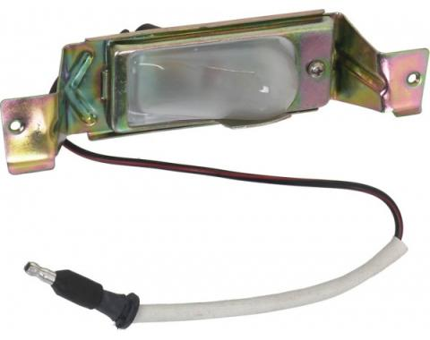 Ford Mustang Rear License Plate Light Assembly