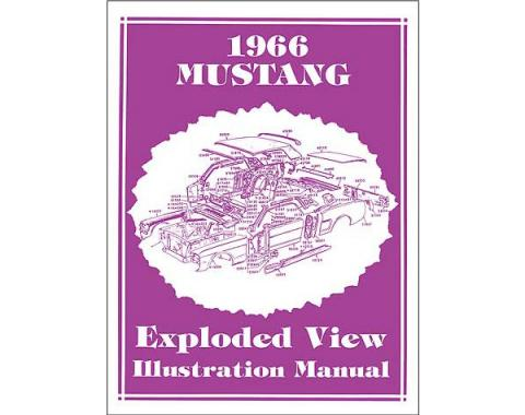 Mustang Exploded View Illustration Manual