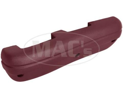Ford Mustang Arm Rest - Maroon Or Dark Red - Right - Standard Interior
