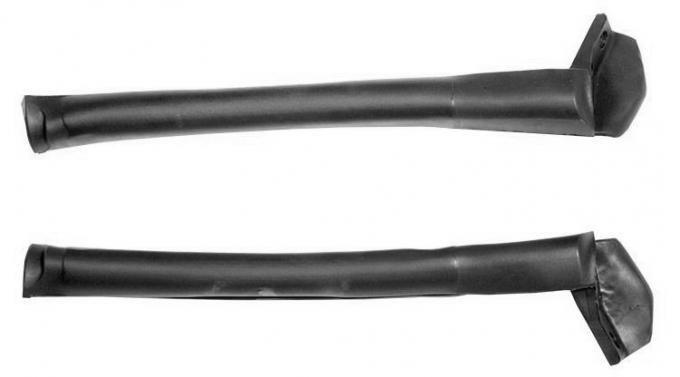 Daniel Carpenter 1994-2000 Ford Mustang & Cobra Convertible Top Front Side Rail Rubber Weatherstrips Seals Pair LH & RH F4ZZ-7653986