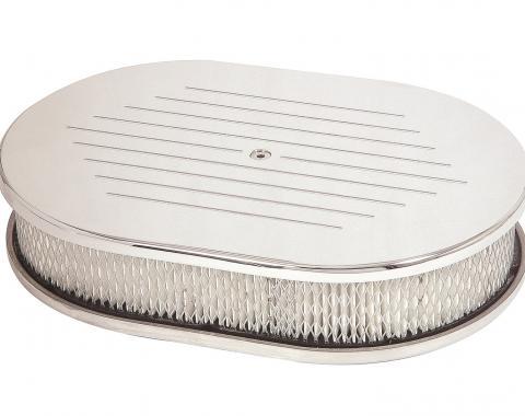 Mr. Gasket Chrome Aluminum Air Cleaner 9156G