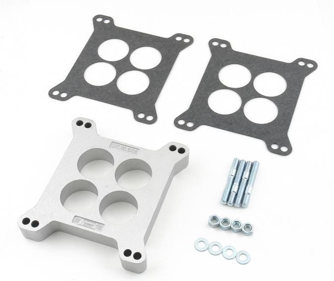 Mr. Gasket Aluminum Carburetor Spacer Kit 6006