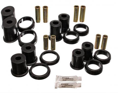 Mustang Rear Control Arm Bushing Kit, Black Polyurethane, 1994-2002