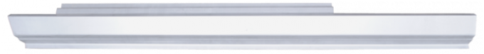 Key Parts '79-'93 Rocker Panel, Driver's Side N0467100L