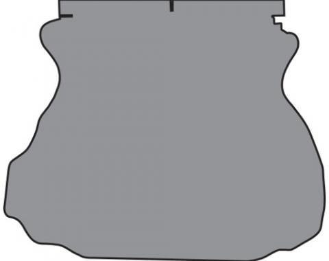 ACC  Ford Mustang Coupe Trunk Mat Cutpile, 1994-2004