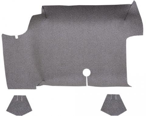 ACC  Ford Mustang Convertible Trunk Mat Fleece, 1964-1968
