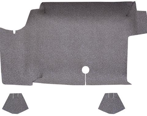 ACC  Ford Mustang Fastback Trunk Mat Fleece, 1964-1968