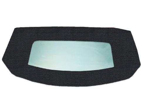 Kee Auto Top HG0289TN09SDX Convertible Rear Window - Vinyl, Direct Fit