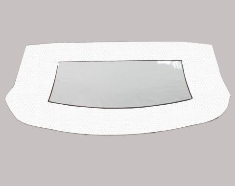 Kee Auto Top CD2089CO01SDX Convertible Rear Window - Vinyl, Direct Fit