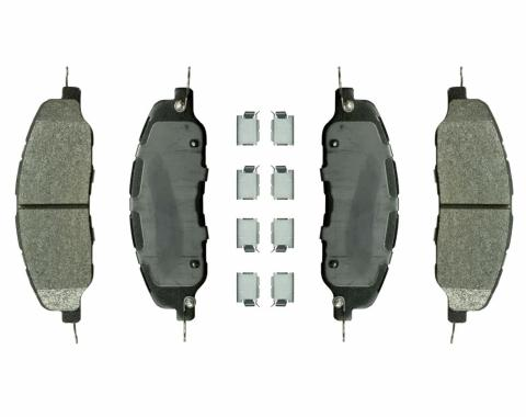 Right Stuff 11 Ford Mustang; Front Brake Pads DP1463