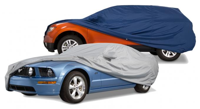 Covercraft 1964-1968 Ford Mustang Custom Fit Car Covers, Ultratect Black C453UB
