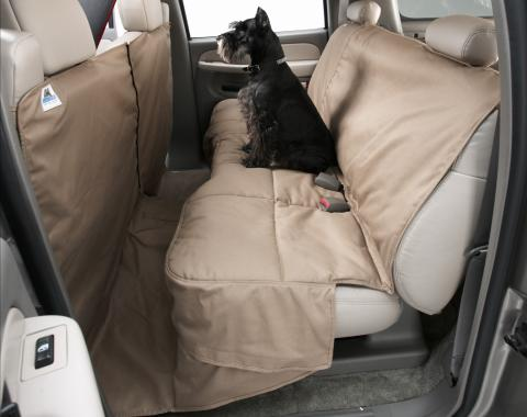 Covercraft 2015-2018 Ford Mustang Canine Covers Coverall, Polycotton Taupe DCA4683TP