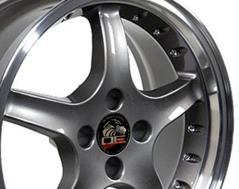 "17"" Fits Ford - Mustang 4-Lug Cobra R Wheel - Anthracite 17x8"