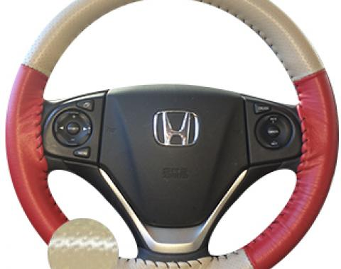 Wheelskins Genuine Leather Steering Wheel Cover, Europerf