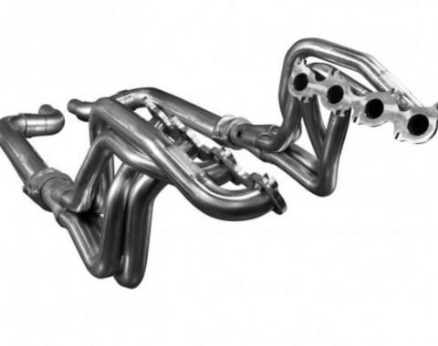 Kooks Headers 1151H210, Exhaust Header, For Use With Ford 5.0L Coyote Engine, Long Tube Chassis Exit, 1-3/4 Inch Diameter Primary Tubes, 3 Inch Collector Diameter, Stainless Steel