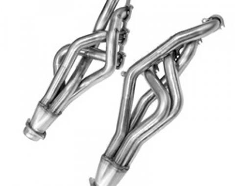 Kooks Headers 11422200, Exhaust Header, For Use With Ford 5.4L/5.8L DOHC Modular Engine, Long Tube Chassis Exit, 1-3/4 Inch Diameter Primary Tubes, 3 Inch Diameter Collectors, For Off-Road Use Only, Natural Stainless Steel