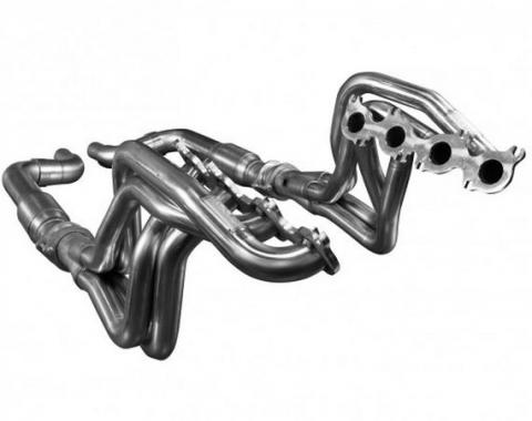 Kooks Headers 1151H430, Exhaust Header, For Use With Ford 5.0L 4V Coyote Engines, Chassis Exit, 1-7/8 Inch Diameter Primary Tubes, 3 Inch Collector Diameter, For Off-Road Use Only, Stainless Steel