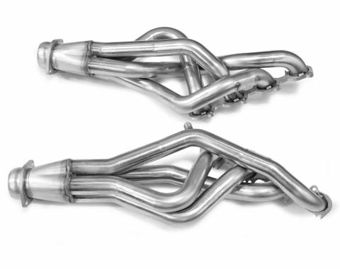Kooks Headers 11422400, Exhaust Header, For Use With Ford 5.4L 330 Cubic Inch Engines, Shortie Style Header, 1-7/8 Inch Diameter Primary Tube, 3 Inch Diameter Collector, For Off Road Use Only, Stainless Steel