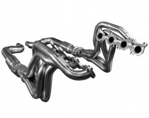 Kooks Headers 1151H420, Exhaust Header, For Use With Ford 5.0L 4V Coyote Engines, Chassis Exit, 1-7/8 Inch Diameter Primary Tubes, 3 Inch Collector Diameter, For Off-Road Use Only, Stainless Steel