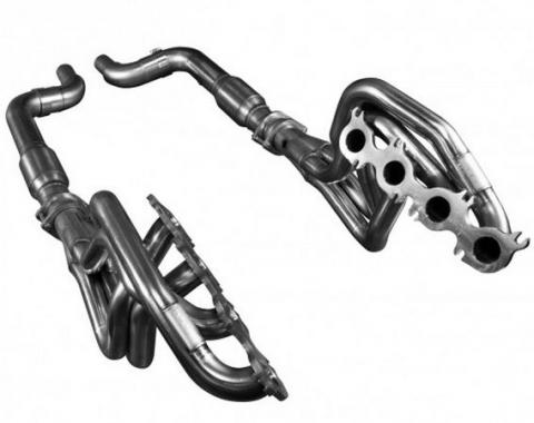 Kooks Headers 1151H220, Exhaust Header, For Use With Ford 5.0L 4V Coyote Engines, Chassis Exit, 1-3/4 Inch Diameter Primary Tubes, 3 Inch Collector Diameter, For Off-Road Use Only, Stainless Steel
