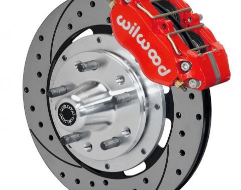 Wilwood Brakes Dynapro Dust-Boot Big Brake Front Brake Kit (Hub) 140-15406-DR