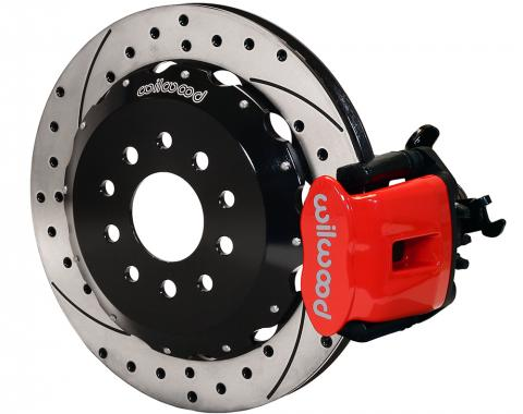 Wilwood Brakes 2005-2014 Ford Mustang Combination Parking Brake Caliper Rear Brake Kit 140-10159-DR